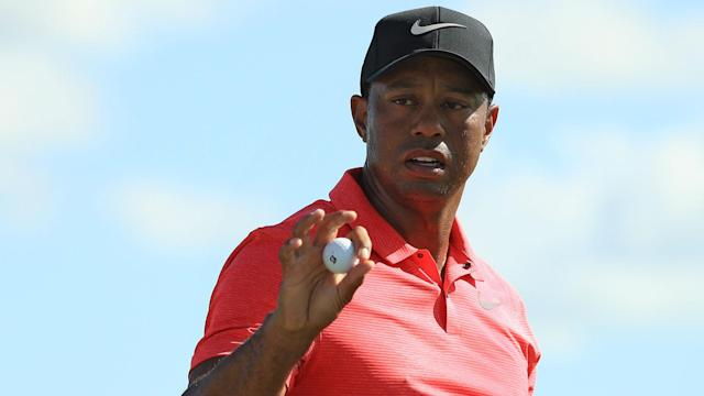 Woods finished in the top 10 at the Hero World Challenge earlier this month.