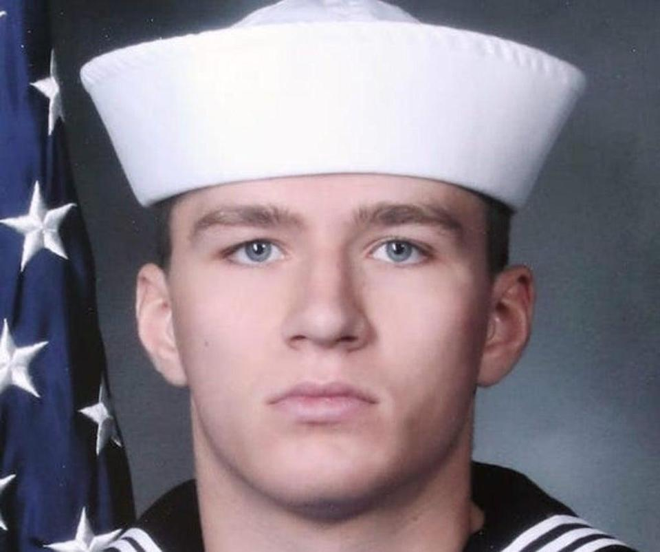 Max Soviak's sister said he was 'beautiful, intelligent, [and] beat-to-the-sound of his own drum' (US Navy)