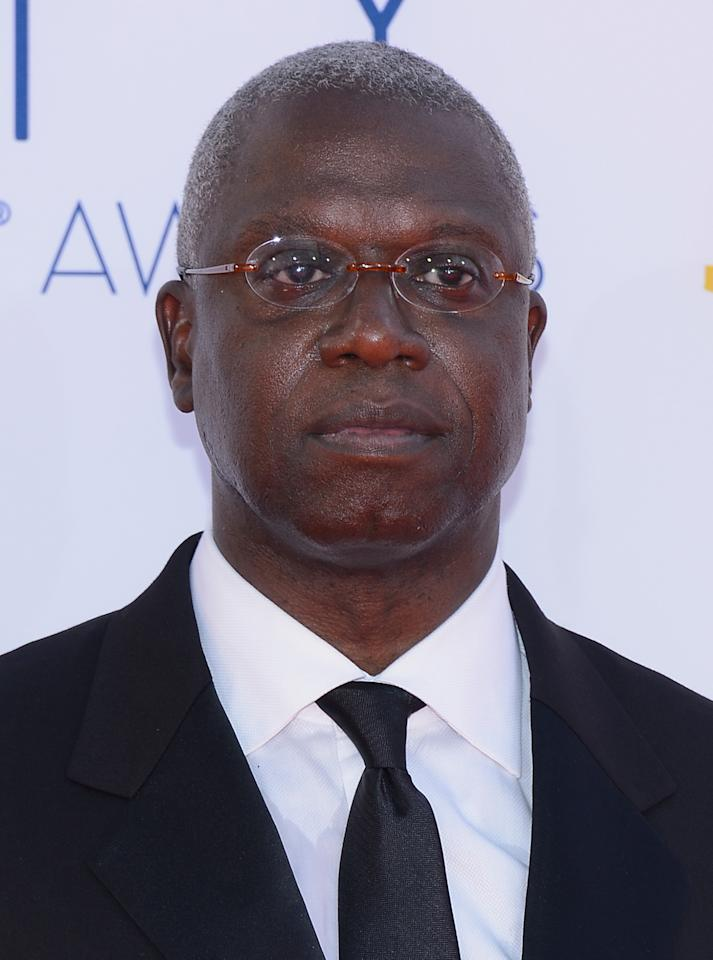 LOS ANGELES, CA - SEPTEMBER 23:  Actor Andre Braugher arrives at the 64th Annual Primetime Emmy Awards at Nokia Theatre L.A. Live on September 23, 2012 in Los Angeles, California.  (Photo by Kevork Djansezian/Getty Images)