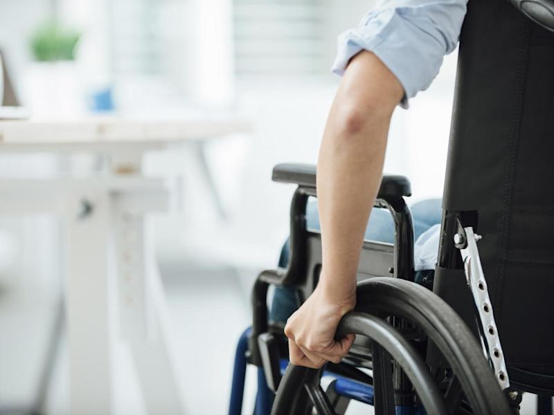 Report finds disabled people in the UK face a lack of equal opportunities in education and employment, barriers to access to health services and housing and a widening disability pay gap: iStockphoto