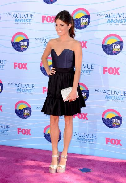 Actress Nikki Reed arrives at the 2012 Teen Choice Awards at Gibson Amphitheatre on July 22, 2012 in Universal City, California. (Photo by Jason Merritt/Getty Images)