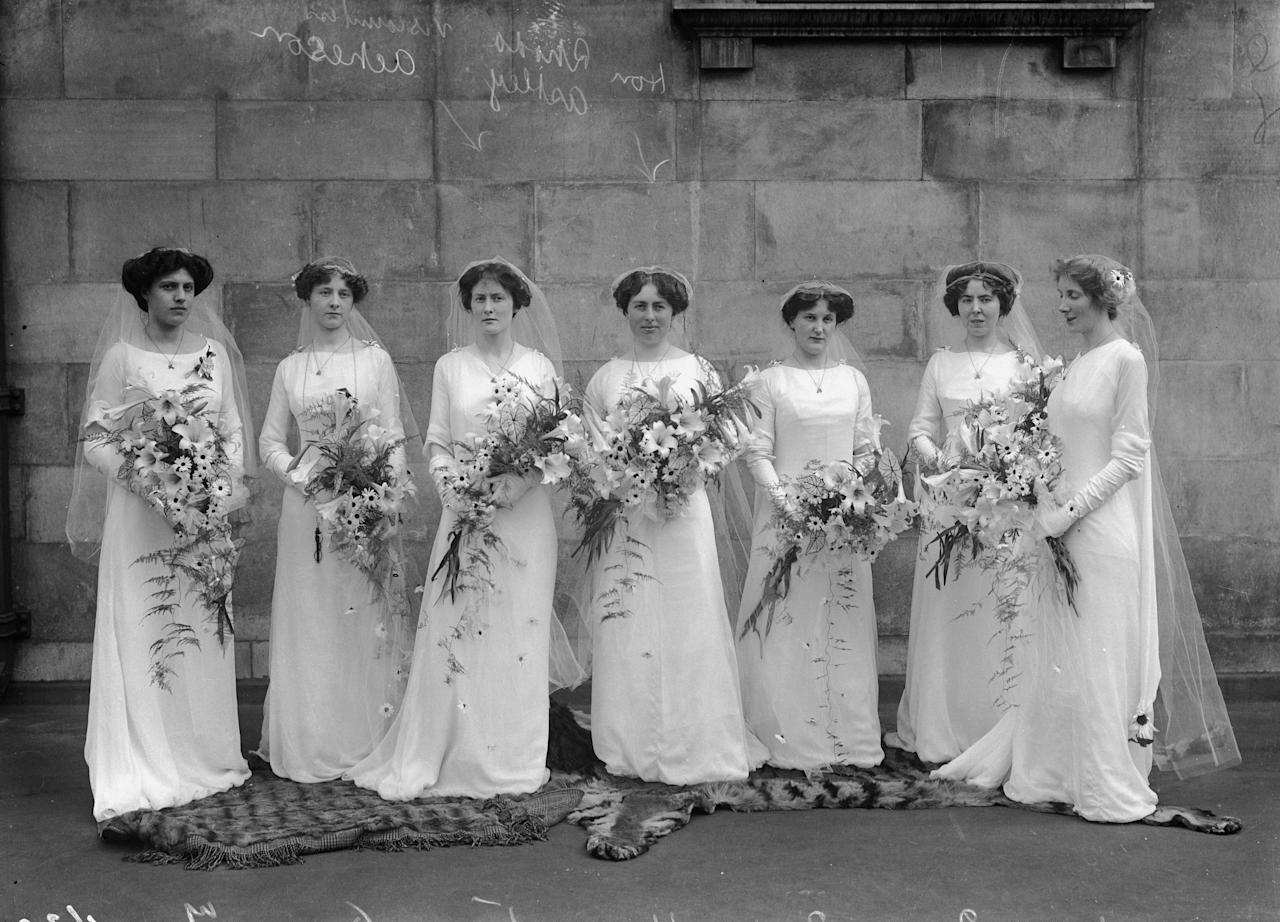 <p>One of the hot button topics of wedding planning is the bridesmaids dress. You know, the one you're expected to shell out money on but more often than not despise? But just like the purpose and duties of bridesmaids have changed over the past few centuries—from dowry holders (seriously) to devoted best friends—so has the fashion. From the days of matching the bride's gown to the ruffles that plagued the '80s, see how bridesmaids dresses have changed.</p>