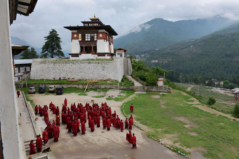 Bhutan is renowned for its rich Buddhist culture (Getty)