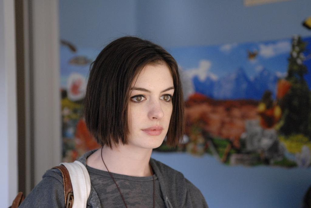 "<a href=""http://movies.yahoo.com/movie/contributor/1804705919"">Anne Hathaway</a> in Sony Pictures Classics' <a href=""http://movies.yahoo.com/movie/1809961213/info"">Rachel Getting Married</a> - 2008"