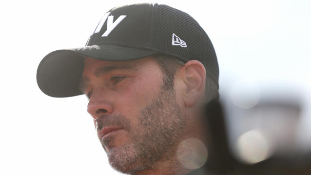 Jimmie Johnson's day at Watkins Glen derailed by Ryan Blaney