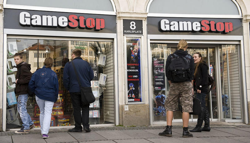 GameStop reportedly discussing buyout with private equity firms
