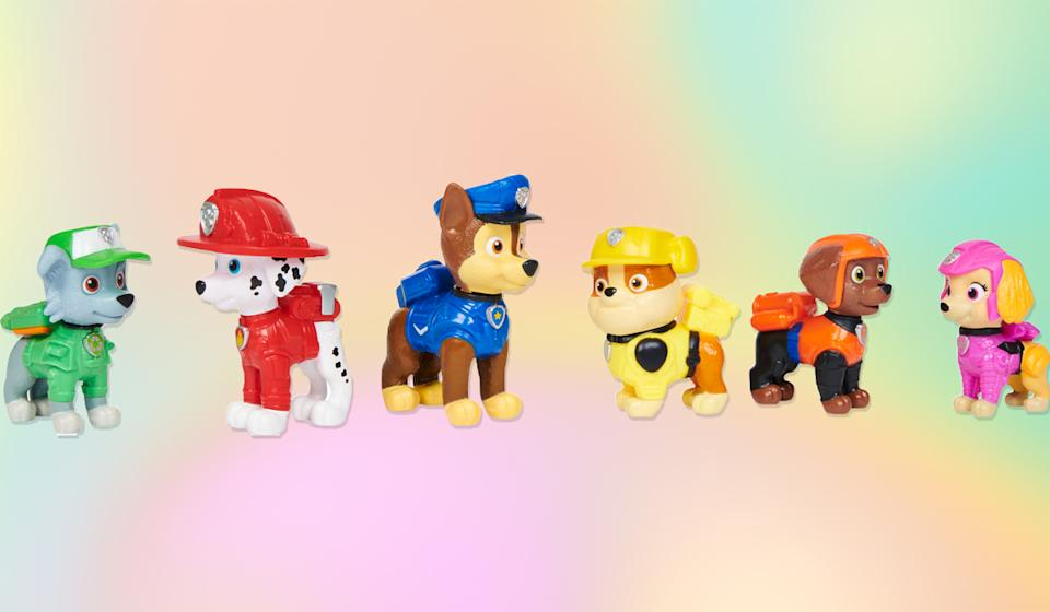 All your favorite Paw Patrol pups in one pack! (Photo: Walmart)