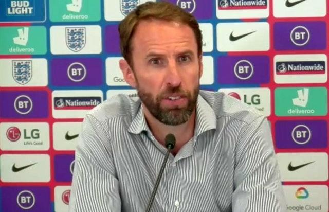Gareth Southgate talked about his decision before the end of the court case