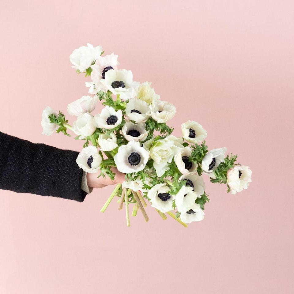 """<p>We can't get enough of the gorgeous white and cream anemones in <a href=""""https://www.popsugar.com/buy/Eyes-Have-Bouquet-569157?p_name=The%20Eyes%20Have%20It%20Bouquet&retailer=farmgirlflowers.com&pid=569157&price=52&evar1=casa%3Aus&evar9=46127505&evar98=https%3A%2F%2Fwww.popsugar.com%2Fhome%2Fphoto-gallery%2F46127505%2Fimage%2F47428774%2FEyes-Have-It-Anemones-Bouquet&list1=shopping%2Cgift%20guide%2Cflowers%2Chouse%20plants%2Cplants%2Cmothers%20day%2Cgifts%20for%20women&prop13=api&pdata=1"""" class=""""link rapid-noclick-resp"""" rel=""""nofollow noopener"""" target=""""_blank"""" data-ylk=""""slk:The Eyes Have It Bouquet"""">The Eyes Have It Bouquet</a> ($52). </p>"""