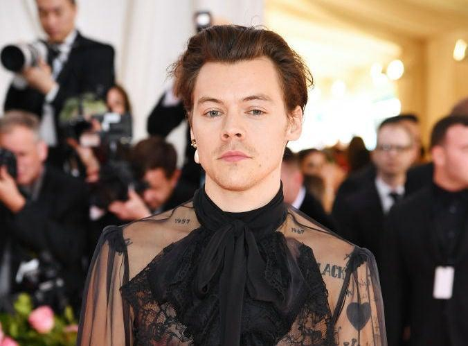 Harry Style has been known to blur gender lines with his outfits (Getty Images for The Met Museum/Vogue)