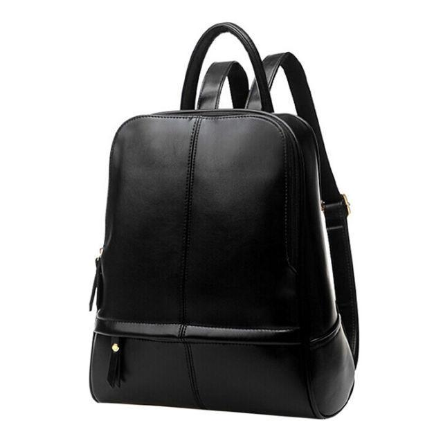 """<p>If you're looking for a cute way to haul around your stuff on summer adventures, this is it. ($28.98; <a href=""""https://www.walmart.com/ip/Black-Faux-Leather-Backpack-Coofit-Fashion-Backpack-Stylish-School-Bags-Book-Bags-for-Adults-Women-Teenage-Girls/471743164"""" rel=""""nofollow noopener"""" target=""""_blank"""" data-ylk=""""slk:walmart.com"""" class=""""link rapid-noclick-resp"""">walmart.com</a>)</p><p><strong><a href=""""https://www.walmart.com/ip/Black-Faux-Leather-Backpack-Coofit-Fashion-Backpack-Stylish-School-Bags-Book-Bags-for-Adults-Women-Teenage-Girls/471743164"""" rel=""""nofollow noopener"""" target=""""_blank"""" data-ylk=""""slk:BUY NOW"""" class=""""link rapid-noclick-resp"""">BUY NOW</a></strong><br></p><p><strong>RELATED: </strong><br></p>"""