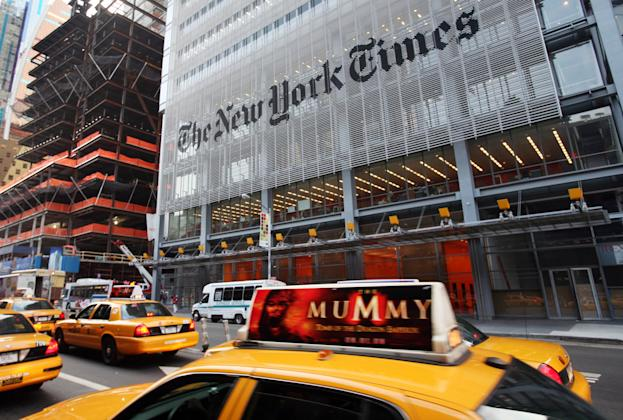New York Times Digital Revenue Beat Print In Q2 For First ...