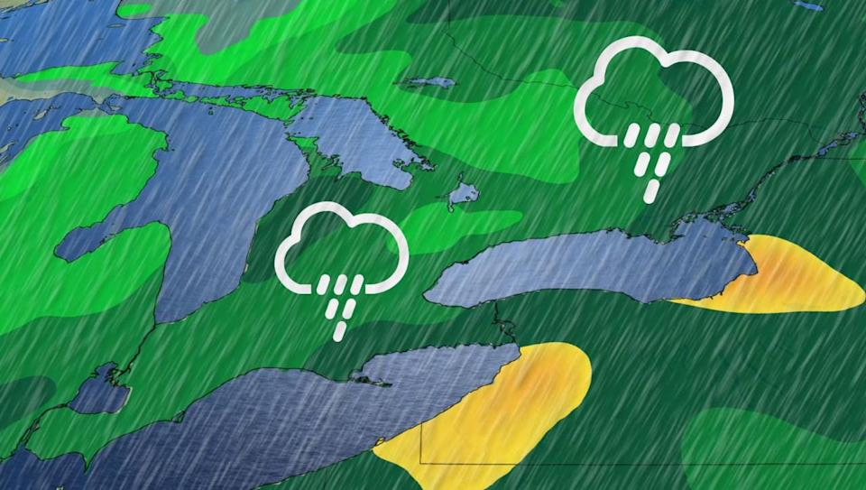 Rainy start to the weekend ahead across southern Ontario