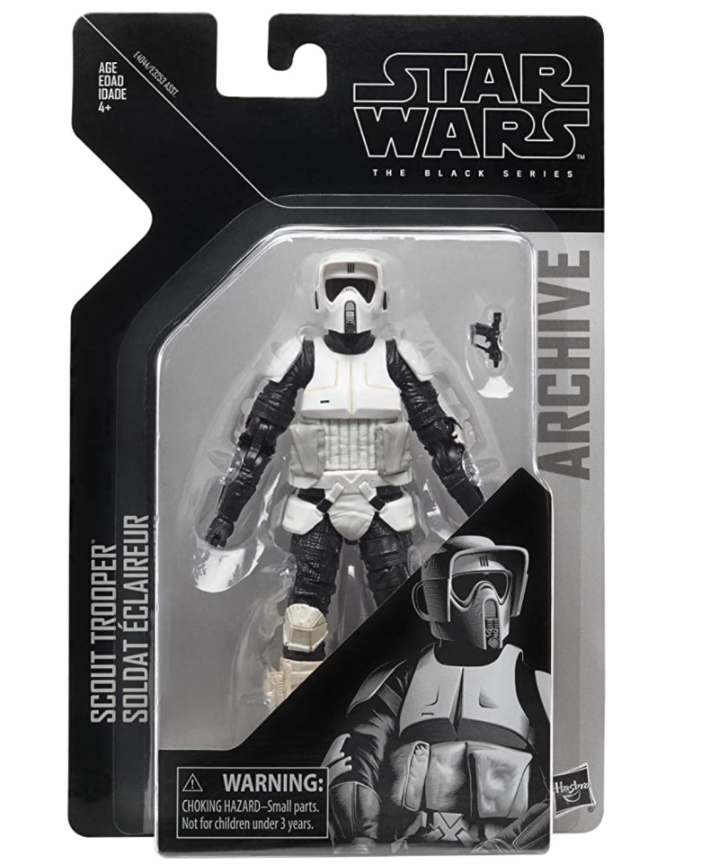 "Star Wars The Black Series Archive Scout Trooper 6"" Scale Figure. (PHOTO: Amazon)"