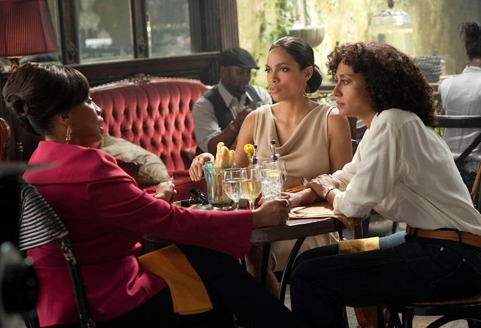 <p>Tracee Ellis Ross also shows up in <em>Five</em>, playing Alyssa alongside Dawson in the segment directed by Keys. The film did well, and both Dawson and Ellis Ross were nominated for a Best Actress award for the Black Reel Awards. </p>
