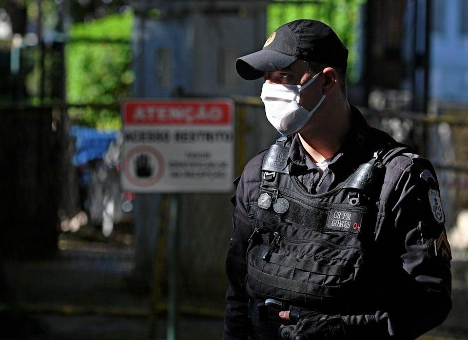 Brazilian Federal Police (file photo) (AFP via Getty Images)