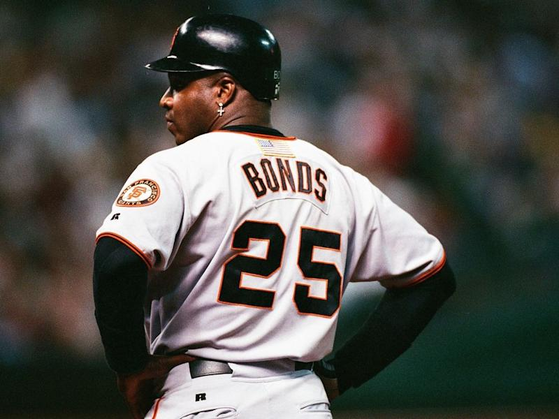 The Giants will retire Barry Bonds' No. 25 in August. (AP)