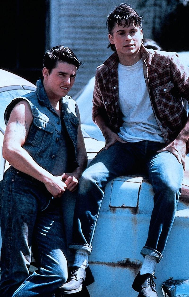 """Tom Cruise (links) und Rob Lowe in Francis Ford Coppolas """"Die Outsider"""". (Bild: ddp)"""
