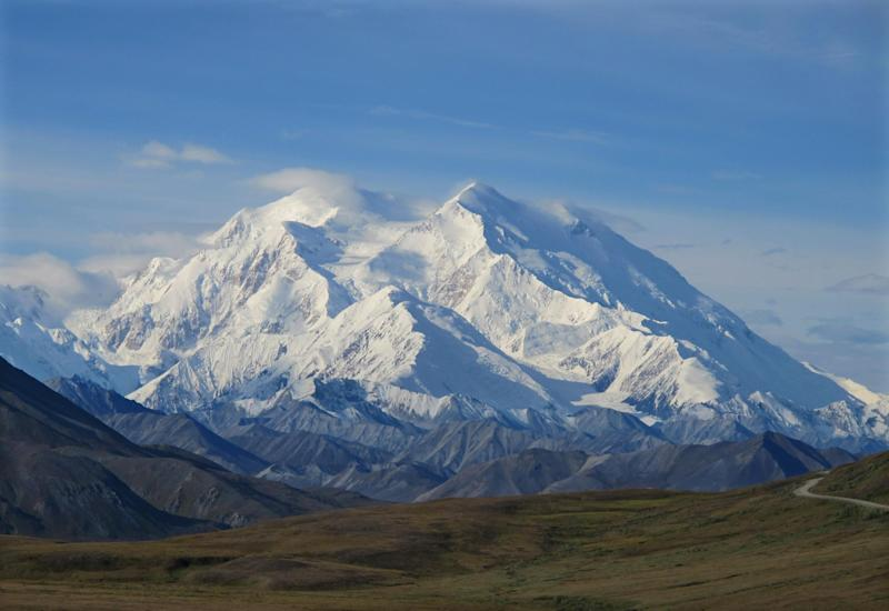 File - In this Aug. 19, 2011 file photo, Mount McKinley is seen in Denali National Park, Alaska. The survivors of a Swiss climber killed while on a guided climb of Mount McKinley has sued the guide company, alleging negligence led to the 2011 death of Beat Niederer. (AP Photo/Becky Bohrer, file)