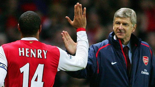 Thierry Henry hinted at feeling relief after it was announced Arsene Wenger will leave Arsenal at the end of the season.