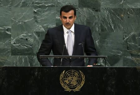Qatari Emir at the United Nations calls for 'unconditional dialogue'