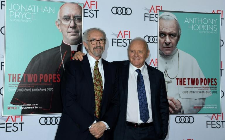 """""""The Two Popes"""" starring Anthony Hopkins and Jonathan Pryce and Benedict and Francis respectively, has quietly emerged as an Oscars contender"""