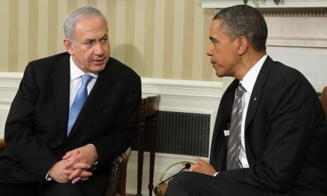 President Obama and Israeli Prime Minister Benjamin Netanyahu meet on May 20: During the latest flare-up of violence in the Mideast,Obama has staunchly proclaimed Israel's right to defend itself.