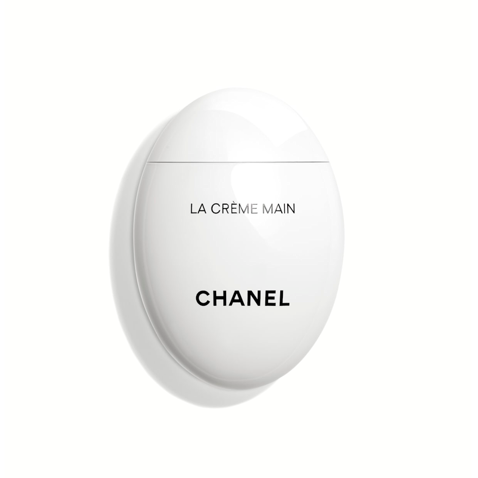 """Your mom won't know what hit her after she's tried this miracle hand cream.<br><br><strong>Chanel</strong> La Crème Main, $, available at <a href=""""https://go.skimresources.com/?id=30283X879131&url=https%3A%2F%2Fwww.chanel.com%2Fus%2Fskincare%2Fp%2F140350%2Fla-creme-main-nourish-soften-brighten%2F"""" rel=""""nofollow noopener"""" target=""""_blank"""" data-ylk=""""slk:Chanel"""" class=""""link rapid-noclick-resp"""">Chanel</a>"""