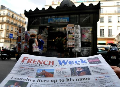 In the digital age, Paris revamps newsstands