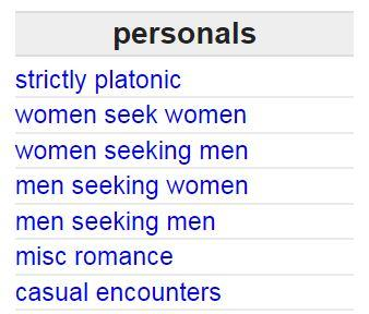 What replaced craigslist personals