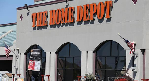 home depot store shoppers earnings wall street stocks investing