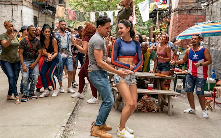'A cast so preposterously attractive, and with such sweltering chemistry': In the Heights - Warner Bros