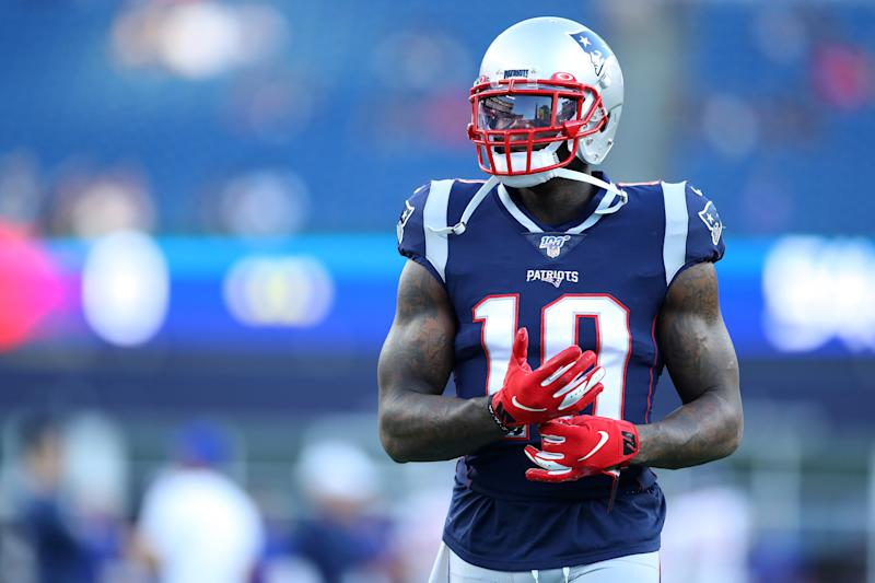Josh Gordon played in the Patriots' final preseason game. (Getty Images)