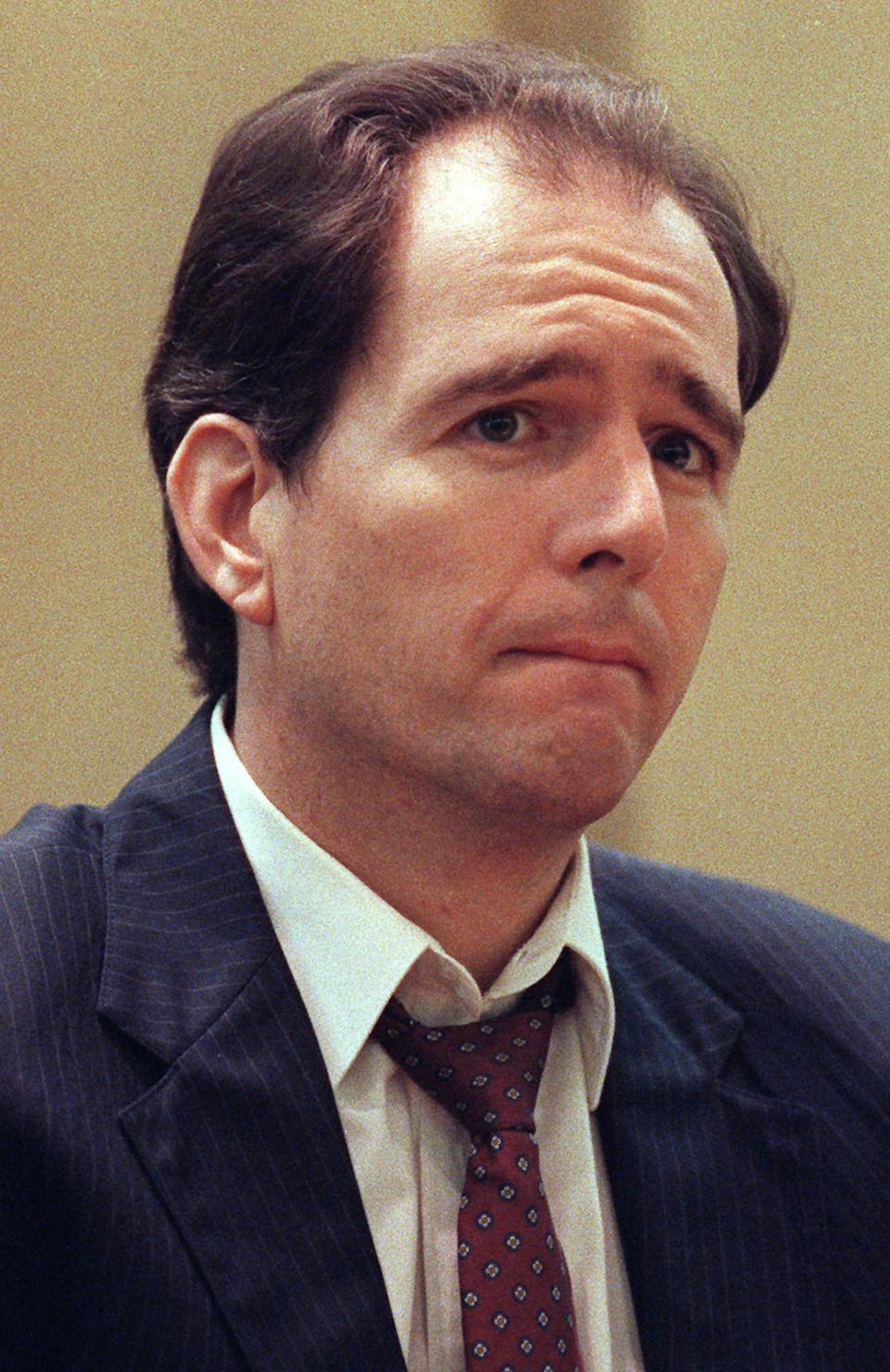 Danny Rolling (pictured in 1994) confessed to both sets of killings and was executed in 2006. Source: AP