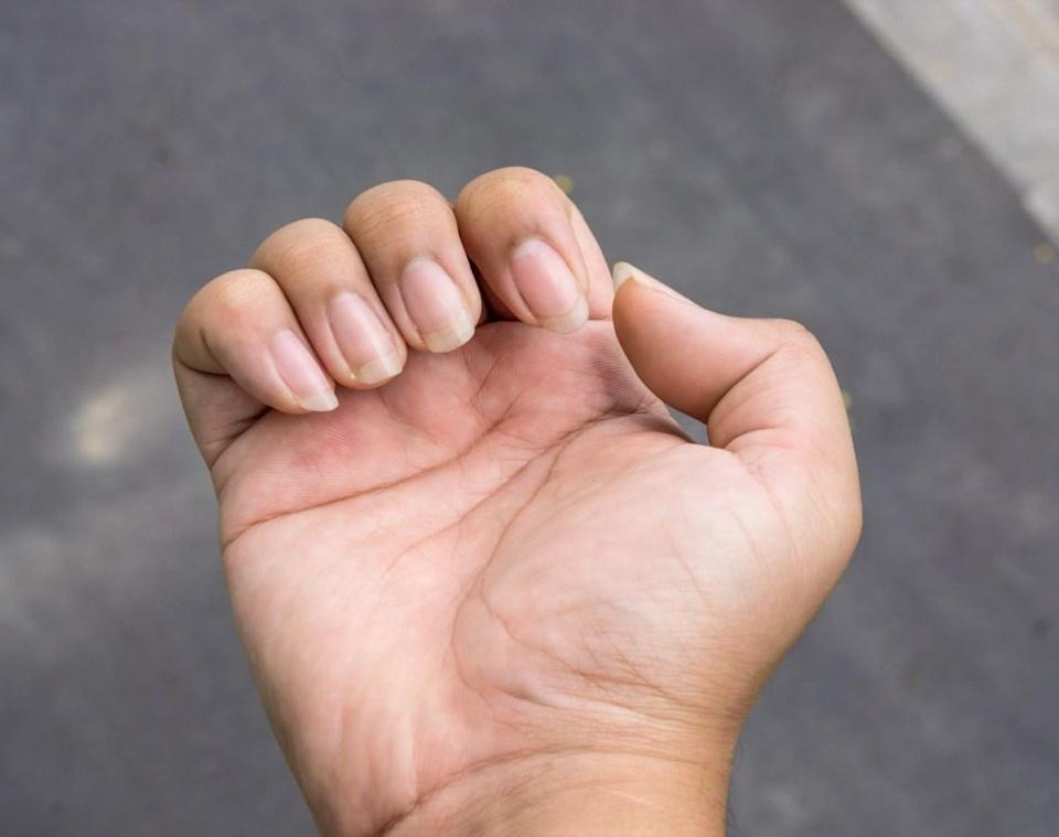 """If you feel like you have to trim your nails more than you used to, it's not just your imagination. A 2010 study out of the University of North Carolina comparing the growth of fingernails and toenails to two previous studies from 70 and 50 years earlier found that <a href=""""https://pubmed.ncbi.nlm.nih.gov/19744178/"""" rel=""""nofollow noopener"""" target=""""_blank"""" data-ylk=""""slk:growth had increased by almost a quarter"""" class=""""link rapid-noclick-resp"""">growth had increased by almost a quarter</a> over the decades. For example, the big toe was found to grow by more than 2mm per month, compared to 1.65mm per month in the 1930s. The reason, according to researchers? The proliferation of protein-rich diets."""