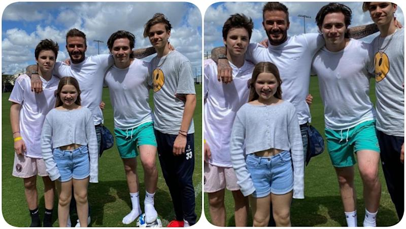 David Beckham Posts a Picture With His Kids on Global Day of Parents, Says 'Being Parents Means Showing Strength'