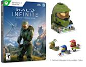 <p>If the man on your shopping list is a gamer, the <span>Halo Infinite Collector's Steelbook® Edition + Mega Construx Assorted Color Halo Helmet</span> ($60) might just be his favorite gift of the holiday season.</p>