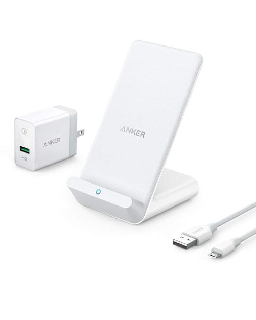 anker charging stand wireless charger