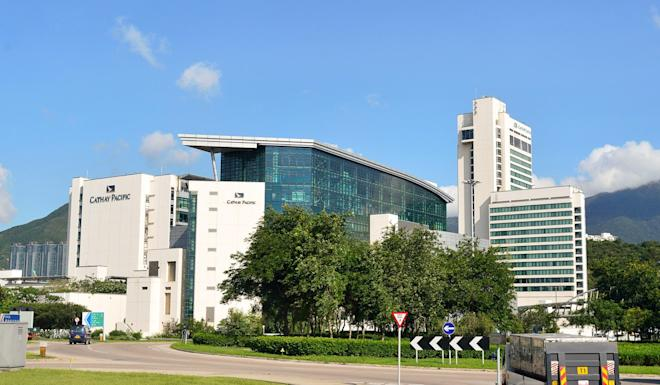 Cathay City, the headquarters of Cathay Pacific, near Hong Kong International Airport. Photo: Shutterstock