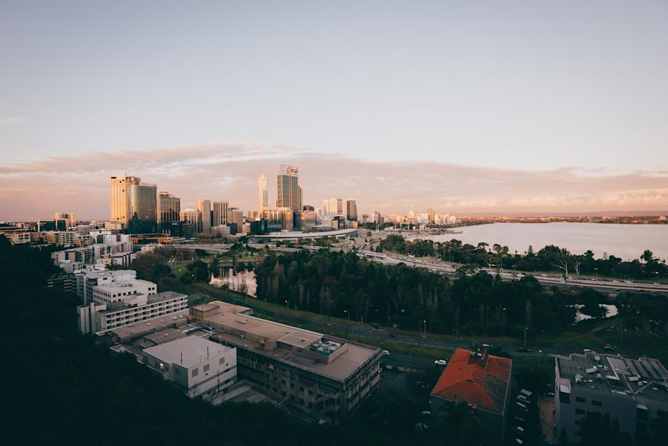Perth's property market is heating up. (Source: Getty)