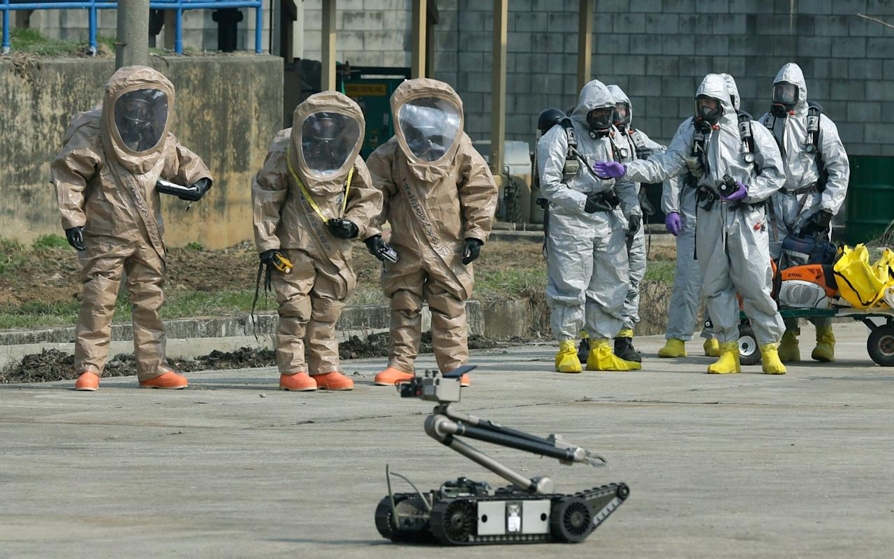 """US officials have warned that North Korea's suspected biological weapons programme poses a growing threat amid heightened tensions on the Korean peninsula. Analysts believe that the pariah regime is moving steadily towards acquiring essential machinery that could potentially be used for advanced bioweapons, from factories that can produce microbes by the tonne, reported the Washington Post. Scientists are also gaining specialist knowledge abroad. Although there is currently no evidence that dictator Kim Jong-un has ordered production of actual weapons, it is feared that US and South Korean ground troops would be targeted with biological agents in the event of war.  """"That the North Koreans have [biological] agents is known, by various means,"""" one senior US official told The Post on condition of anonymity. """"The lingering question is, why have they acquired the materials and developed the science, but not yet produced weapons?"""" things facts you didnt know about north korea But he admitted that spy agencies might not know immediately if they did as new capabilities are embedded within civilian factories which the regime claims are making agricultural and pharmaceutical products. """"If it started tomorrow we might not know it,"""" the official said. """"Unless we're lucky enough to have an informant who happens to be in just the right place."""" US and South Korean intelligence agencies believe Pyongyang has experimented with bacterial strains including microbes that cause anthrax, cholera and plague. Analysts also suspect that North Korea has possessed the smallpox virus since the mid-1990s. North Korea 