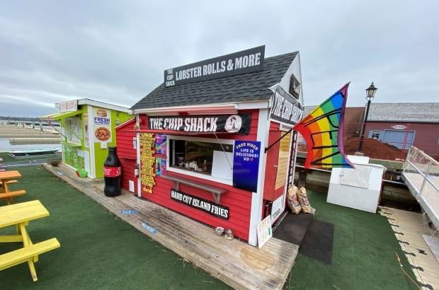 The Chip Shack remains open for business. (Kirk Pennell/CBC - image credit)