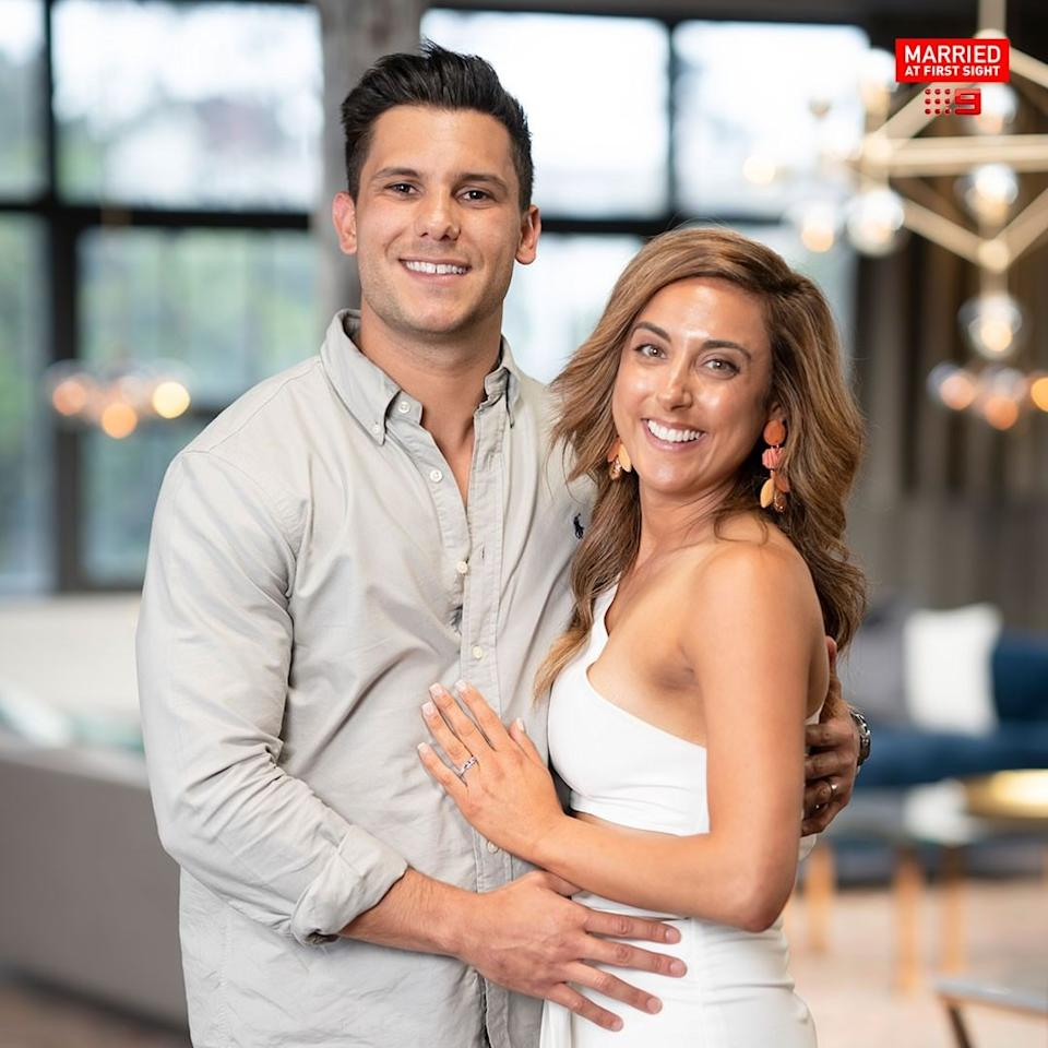 Kerry Knight and Johnny Balbuziente on MAFS