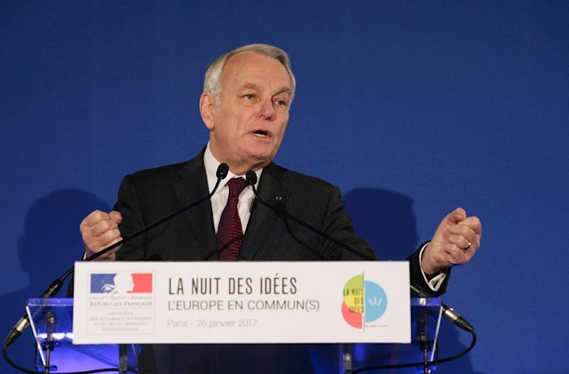 French Foreign Minister Jean-Marc Ayrault announces a project that aims to double the number of visas currently issued for Iran