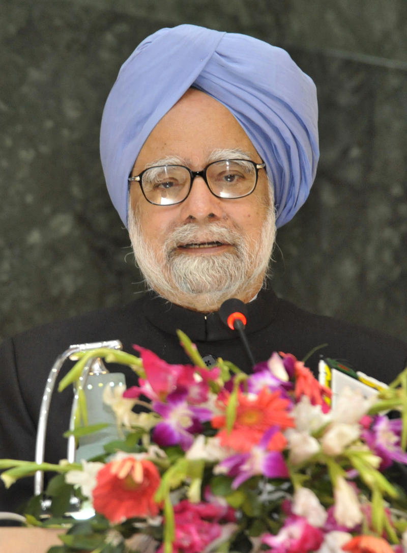 Indian Prime Minister Manmohan Singh speaks at Dhaka University in Dhaka, Bangladesh, Wednesday, Sept. 7, 2011.  Singh is in Bangladesh on a two-day visit .(AP Photo/ Subir Kumar)