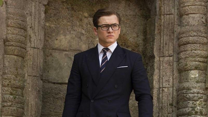 Taron Egerton as Eggsy (Credit: Fox)