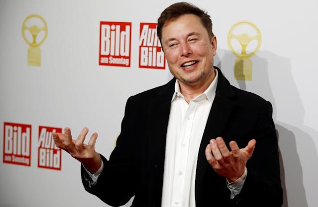 Tesla CEO Elon Musk. Photo: Hannibal Hanschke/Reuters