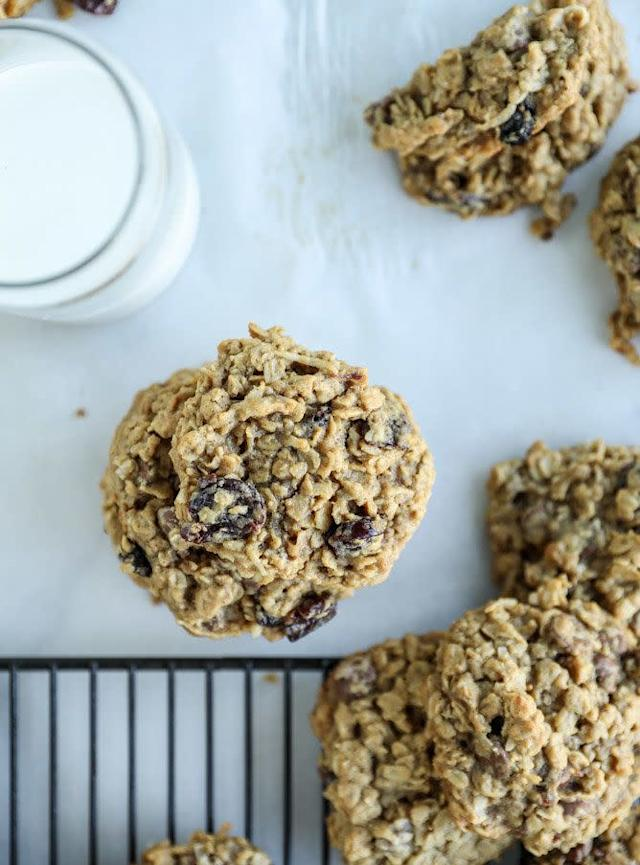 <strong>Get the <span>Bourbon Soaked Cherry Oatmeal Chocolate Chip Cookies recipe</span>from How Sweet It Is</strong>