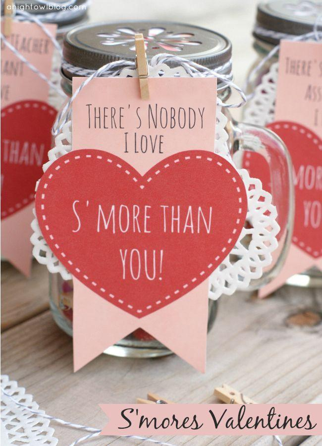 """<p>Your friends will be utterly smitten by one of these adorable s'mores kits. </p><p><strong>Get the tutorial at <a href=""""http://www.anightowlblog.com/2014/02/smores-valentines.html/"""" rel=""""nofollow noopener"""" target=""""_blank"""" data-ylk=""""slk:A Night Owl"""" class=""""link rapid-noclick-resp"""">A Night Owl</a>. </strong></p>"""