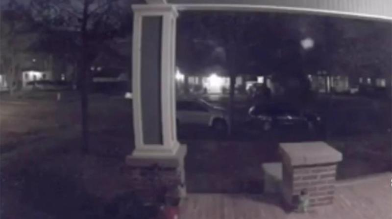 A massive boom woke up residents in the Texan suburb of North Oak Cliff. Source: CBS